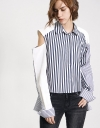 Deconstructed Two-Way Shirt