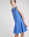 A-Line Dress With Flouncy Hem