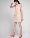 Shift Dress With Self-Tie Back
