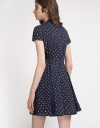 Multicolored Polka-Dot Dress