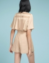 Layered Romper With Elasticated Waist