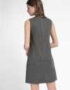 Shift Dress With Ruffled Detail