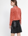 Suede Jacket With Pockets