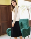 Midi Skirt With Button Detailing
