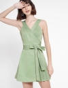 Strappy A-Line Romper With Belt