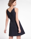 Strappy Sequined A-Line Dress