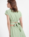 Midi Dress With Cut-Out Back