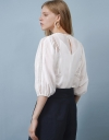LIMITED EDITION Lace Blouse with Pleats