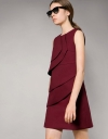 Circular Layered Shift Dress